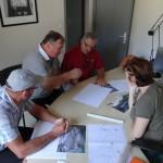 27/06/2014: Christian, Adrien, Jean-Louis et Claire Desqueyroux