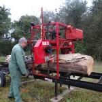 16/10/2014 Sciage des chênes pour charpente