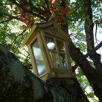 Lanterne de style japonais lampe solaire