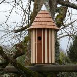 2020-12-31 Nichoir toit conique tuiles sipo coiffe zinc