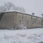 29 janvier 2006: sous la neige